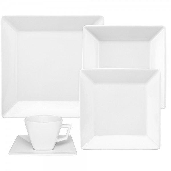 oxford porcelanas aparelho de jantar quartier white 30 pecas 00