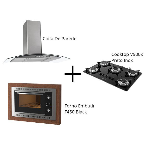 coifa cooktop f450