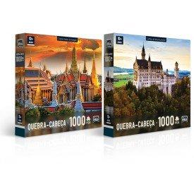 2309 qc 1000 pec as grande pala cio de bangkok e castelo de neuschwanstein principalgrande