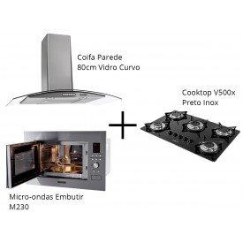 coifa cooktop micro
