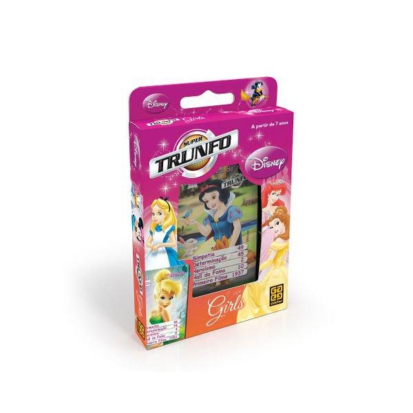 Jogo De Cartas Super Trunfo Girls Disney - Grow