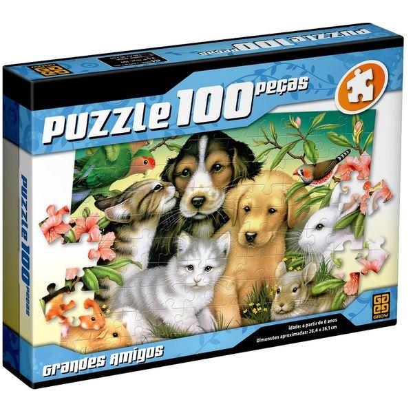 02628 puzzle 100 grandes amigos 1