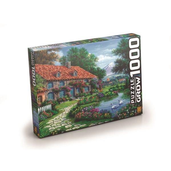 03458 puzzle 1000 recanto dos cisnes 1
