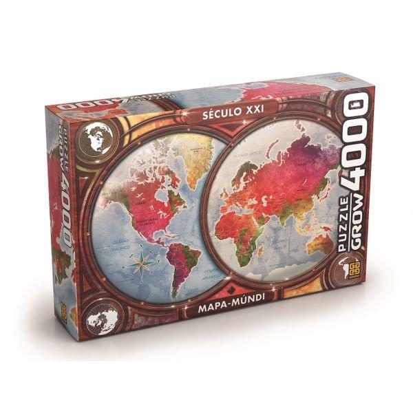 03463 puzzle 4000 mapa mundi 1