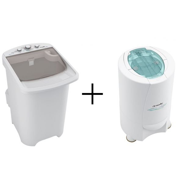 lavadora supertank 8 kg centrifuga dry 2 8 kg branca mueller 110v