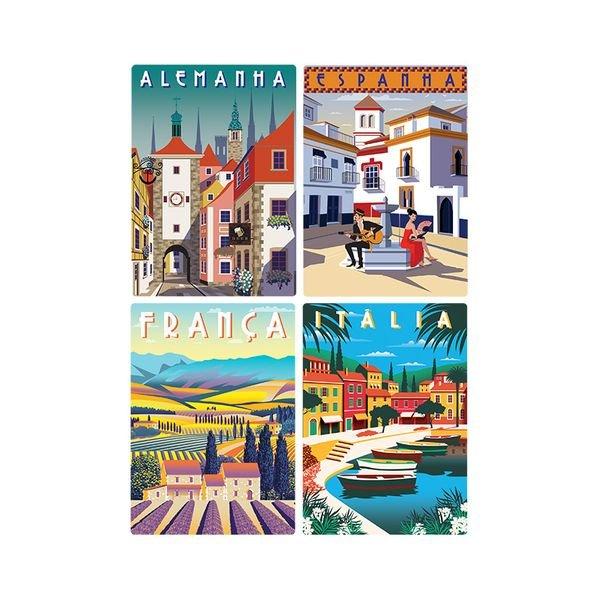 2616 qc 500 pec as nano postais da europa alemanha espanha franc a e ita lia detalhe1
