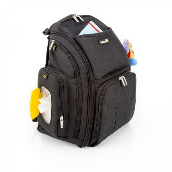 Mochila Infantil Multifuncional C/ Trocador Bebê Maternidade - Black Pack - Safety 1st Preto