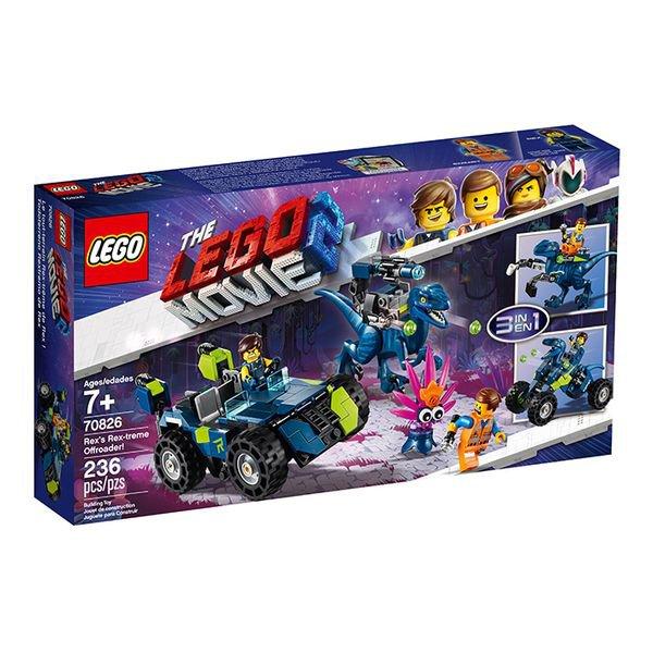 Lego The Movie - O Veículo Off-Road Rex-Treme do Rex - Lego