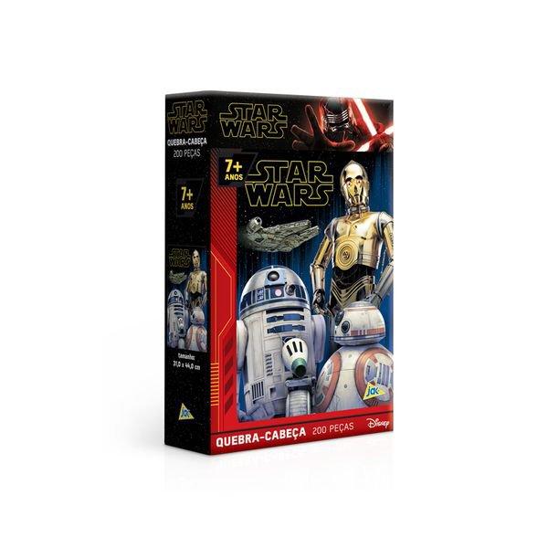 Quebra-Cabeça Puzzle 200 Peças - Star Wars IX: A Ascensão Skywalker - Toyster -