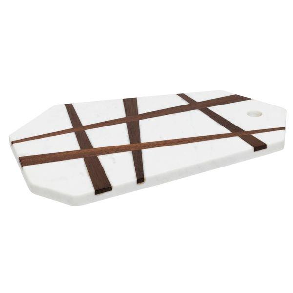 069611 tabua aservir marmore linhas madeira