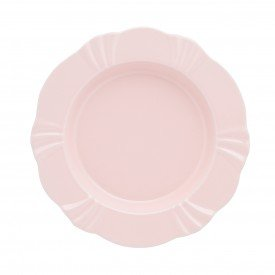oxford porcelanas soleil blush prato fundo