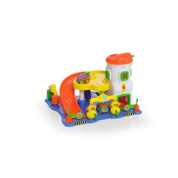Brinquedo Lava Rápido Posto Car Center Colorido - Tateti