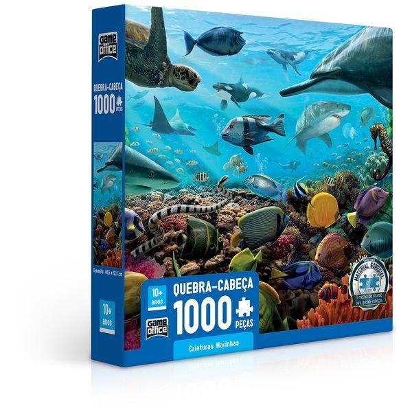 2721 criaturas marinhas qc 1000 pecas embalagem 1