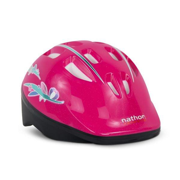 capacete rosa