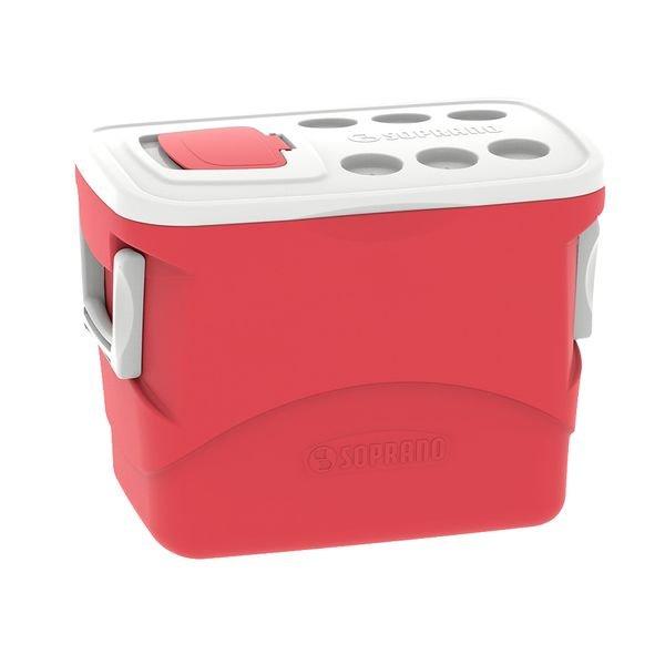 caixa termica tropical 50l vermelha