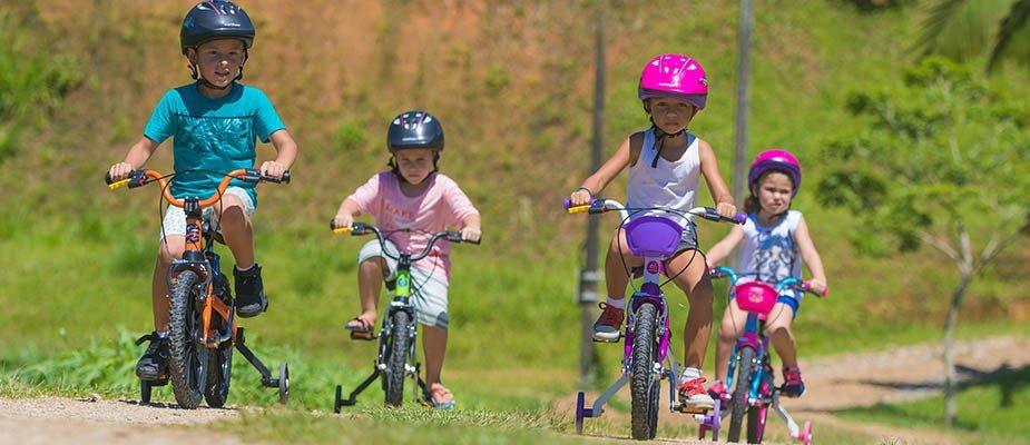 Conheça os benefícios de pedalar em todas as idades