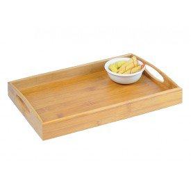bandeja para servir em bambu 35 cm 11607