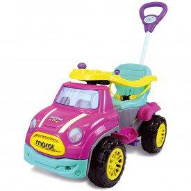 sport car pedal rosa