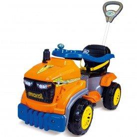 tractor agro pedal laranja
