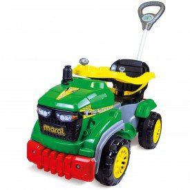 tractor agro pedal verde