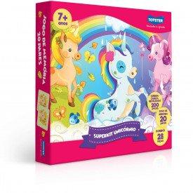 2860 unicornio kit de diversao metalizado embalagem